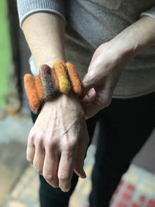 Armband orenji