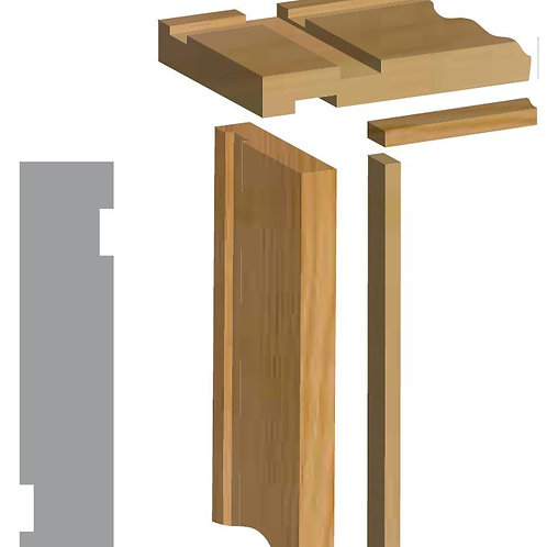 Firecheck Door Lining Set with Stops - 38mm x 138mm 2'6 inch/2'9 inch