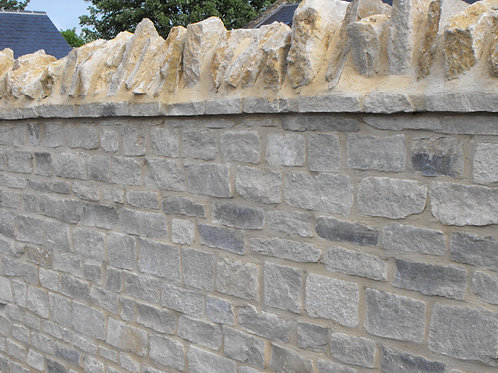 Subtle Grey Natural Building Stone Jumbo Bag (approx 4sqm)