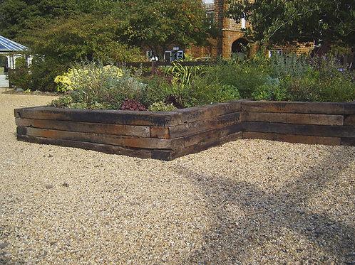 Reclaimed Timber Landscape Sleeper