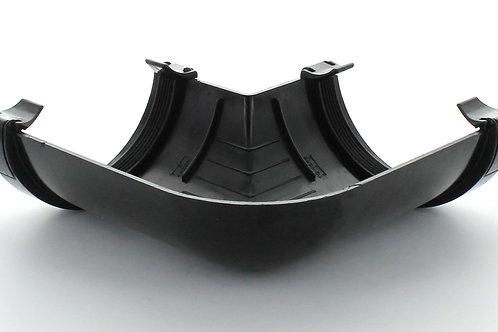 BR005 Hunter Surefit Guttering 112mm 90 Degree Angle Black
