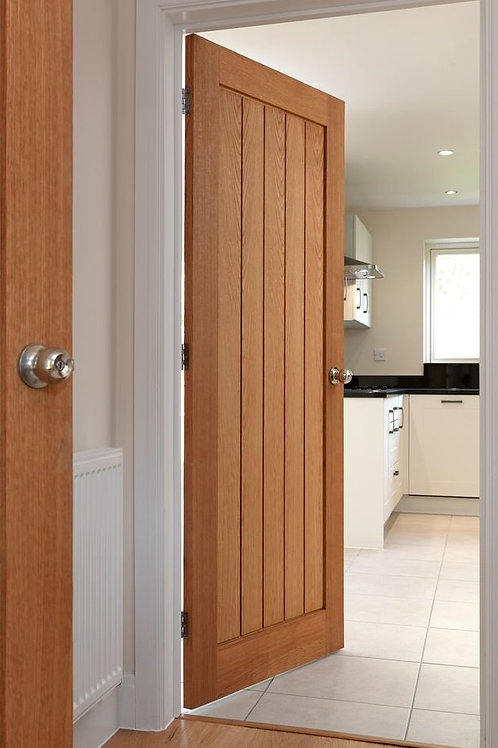 Thames 18mm Lipping Unfinished Door - 35mm x 838mm x 1981mm