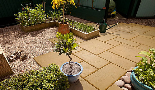 Canterbury Old Cotswold Paving Patio Pack