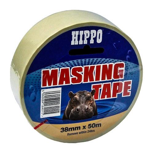 Hippo Masking Tape - 38mm x 50m