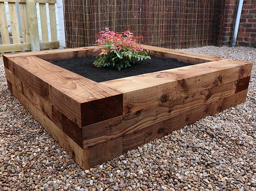 Brown Treated Timber Landscape Sleeper