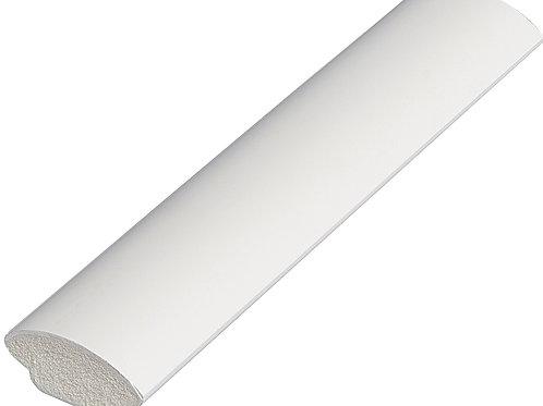 17.5mm White Pvc Quadrant