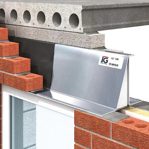 Heavy Duty Steel Cavity Wall Lintel for 90mm - 105mm Cavity - 3000mm