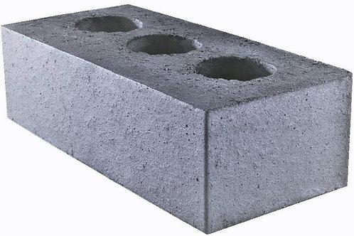 Blue Engineering Bricks Perforated 65mm x 215mm x 102.5mm