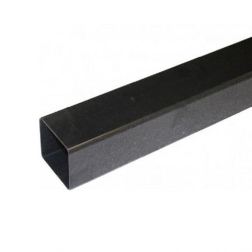 BR526 Hunter Squareflo Guttering 65mm Pipe 4m Black
