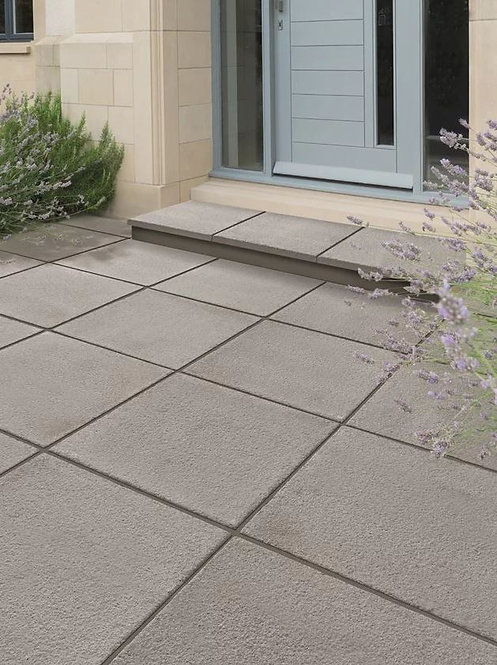 Textured Paving Slabs Dark Grey