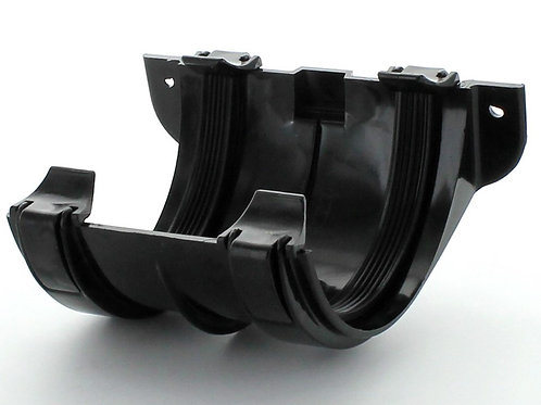 BR008 Hunter Surefit Guttering 112mm Joint Bracket Black