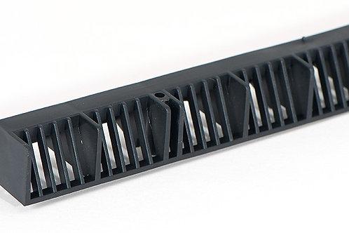 Over Fascia Vent Black 1mtr x 10mm