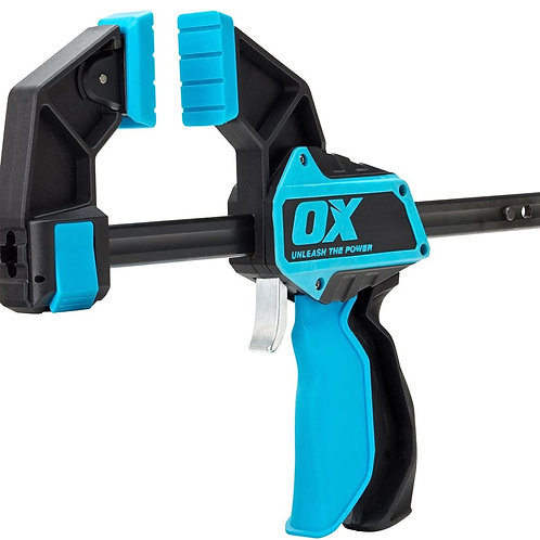Ox Pro Heavy Duty Bar Clamp 300mm (12 inch)