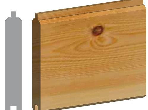 Pine 2 Side Matching PTGV Cladding Timber 25mm x 125mm