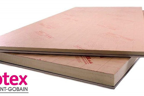 Thermal Laminate Plasterboard - 2400mm x 1200mm x 12.5/40mm PL4040