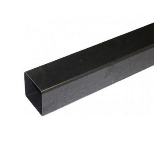 BR525 Hunter Squareflo Guttering 65mm Pipe 2.5m Black