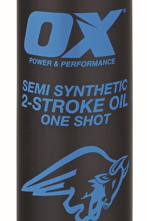 Ox One Shot Semi-Synthetic 2-Stroke Oil 100ml