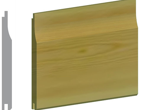 Green Treated Shiplap Timber 19mm x 125mm