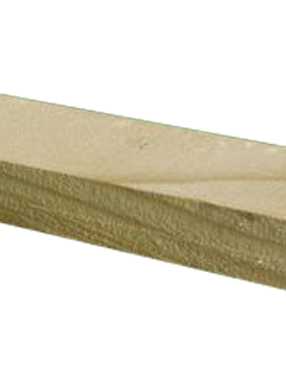 Capping Rail Treated Timber Green 32mm x 63mm x 3000mm