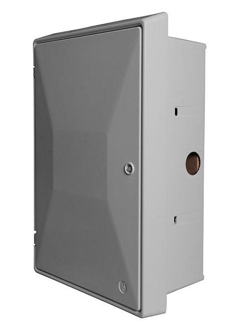 Electric Meter Box UK Standard Recessed - White EBP0011