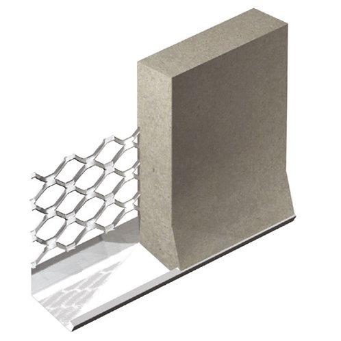 Stainless Steel External Render Stop Bead 3.0mtr Bellcast