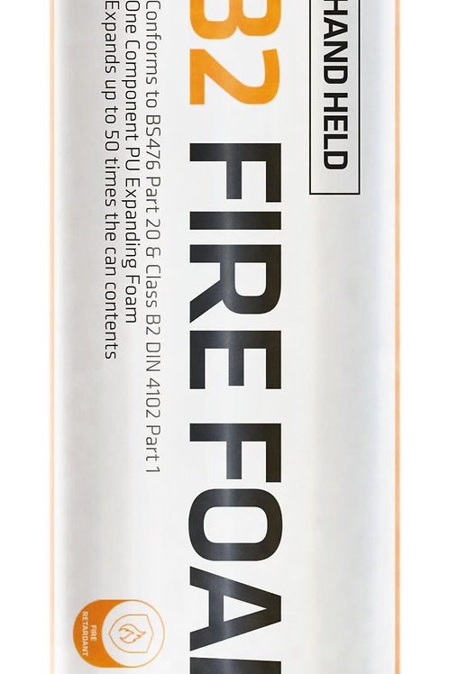 Firefoam B2 Handheld Fire Rated Polyurethane Foam - 750ml