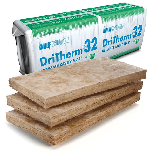 Dritherm 32 150mm Cavity Batt Insulation Pack 2.18sqm