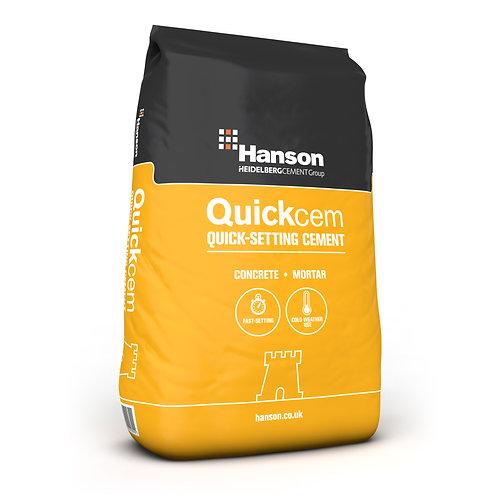 Hanson Quickcem Rapid Fast Set Cement - 25kg Pack