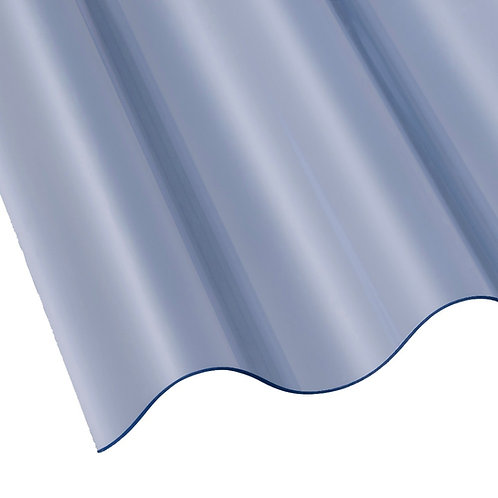 Heavy Duty PVC Corrugated Sheet 3 inch 2440mm x 762mm