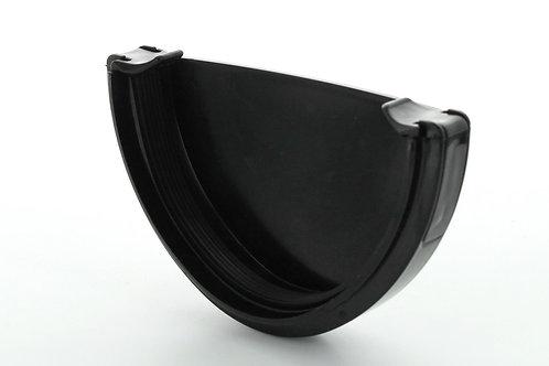 BR613 Hunter Surefit Guttering 125 Stopend External Black
