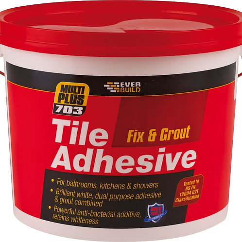 703 Fix & Grout Tile Adhesive 3.75kg