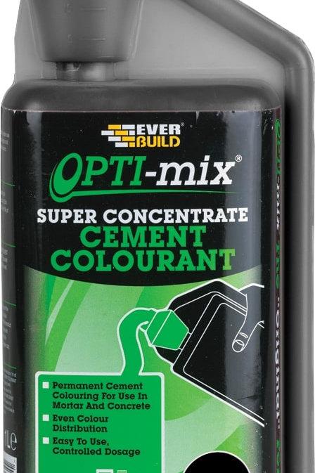 Opti Cement Colourant Concentrate Black - 1 litre