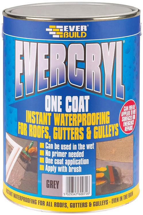 Evercryl One Coat Roof Repair Grey - 5 litres