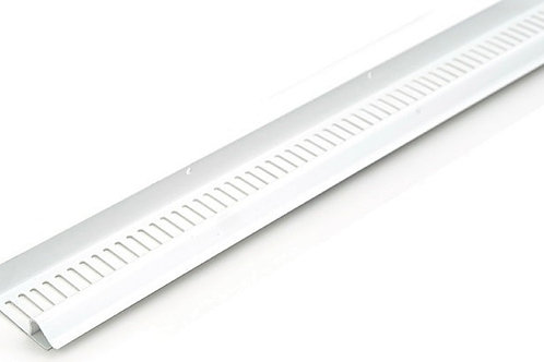 Continuous Soffit Vent Type C 10mm Airflow White 2440mm