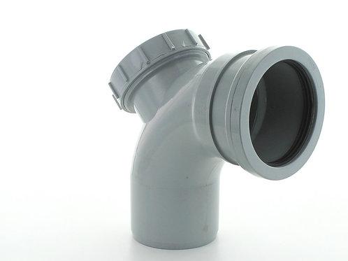GS326 Hunter Soil 110mm 92.5 Degree Access Bend Grey