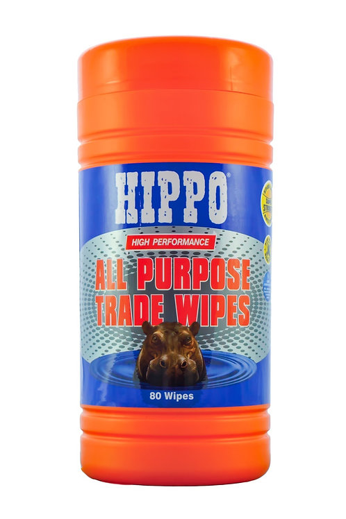Hippo All Purpose Trade Wipes - Pack Of 80