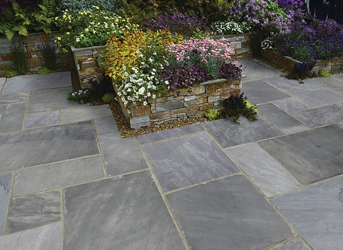 Premium Calibrated Sandstone Paving Twilight