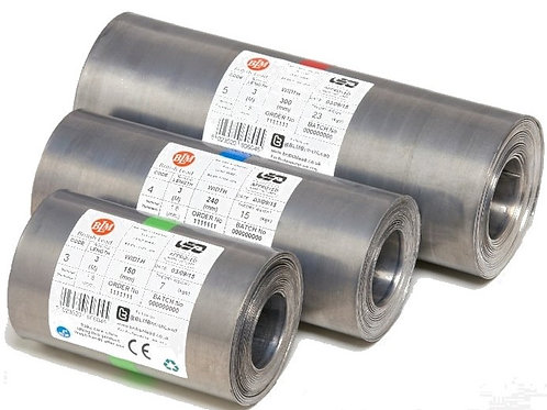 Milled Lead Code 4 - 6m Roll - Various Widths
