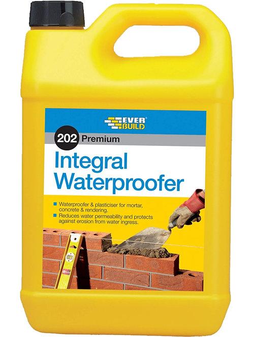 202 Integral Waterproofer - 5 litres