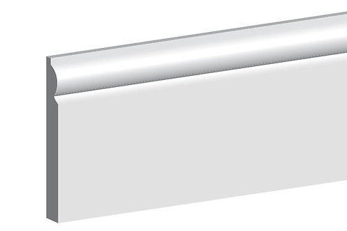 Primed MDF Torus Architrave 18mm x 69mm 4.4m Length