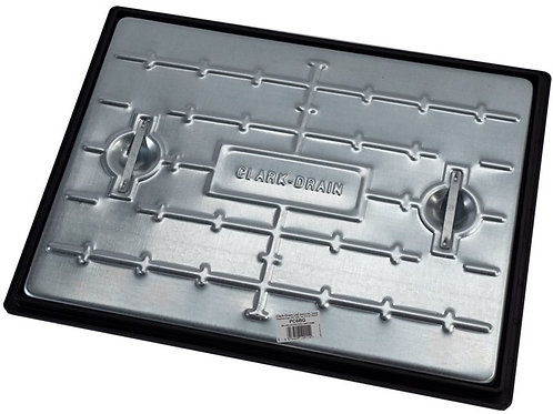 Manhole Cover Galvanised Steel & Polypropylene Frame PC6BG - 600x450mm - 5 Tonne