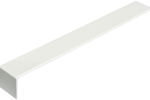 300mm White PVC Square Face Fix Fascia Joints