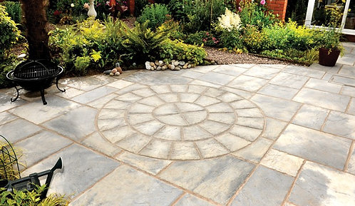 Bronte Weathered Buff Paving Patio Pack