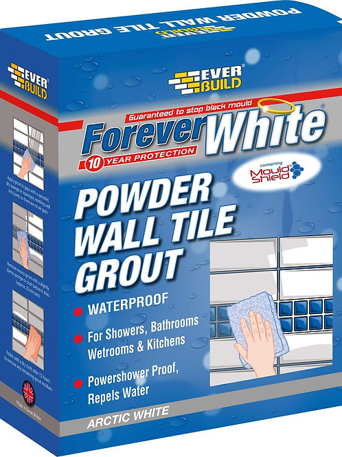 Forever White Wall Tile Grout 1.2kg