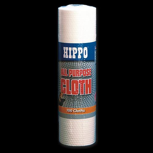 Hippo Heavy Duty Towel 34cm x 24cm - 100 sheet roll