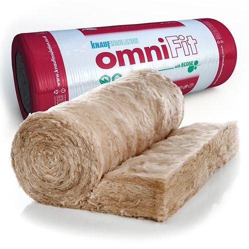 Earthwool Omnifit Roll 100mm 8.16sqm  (2x600mm/3x400mm split)
