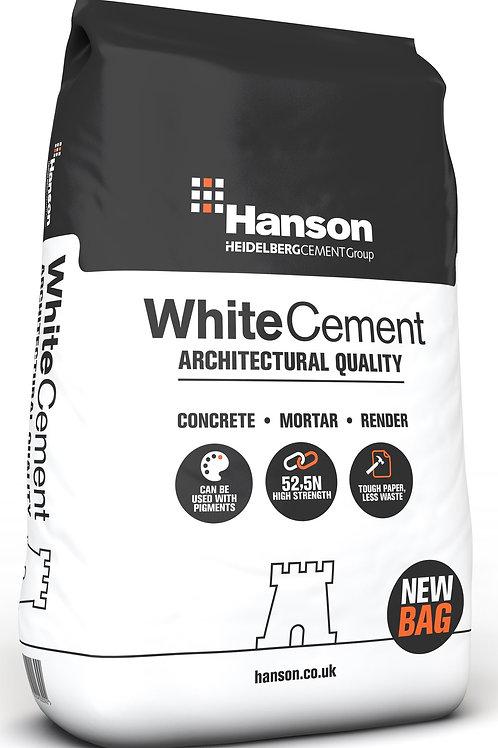 Hanson White Cement - 25kg