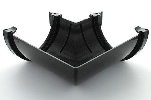 BR605 Hunter Surefit Guttering 125 Angle External 90 Degree Black