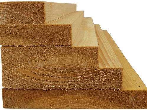 PAR Timber 25mm x 100mm - Per metre