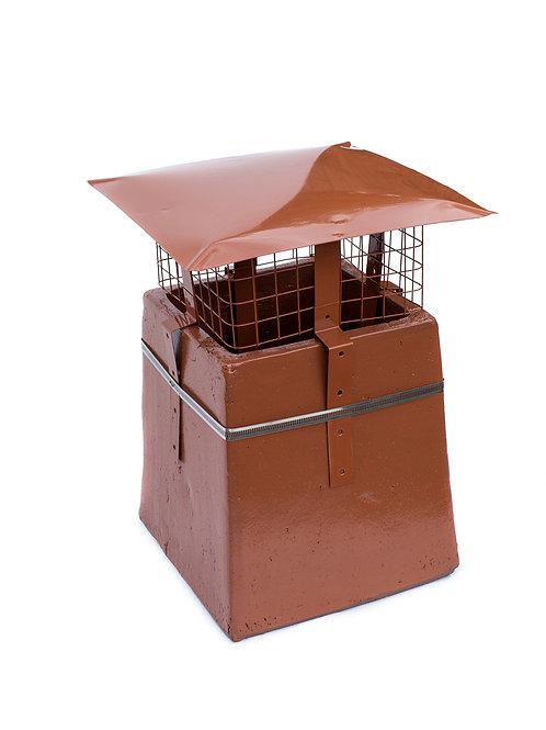 Rainguard Terracotta Square Mesh